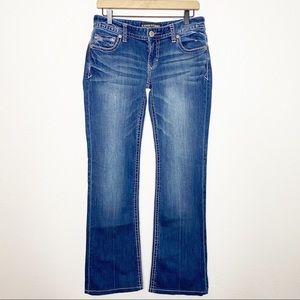[Express] Big Stitch Stella Boot Cut Low Rise Jean
